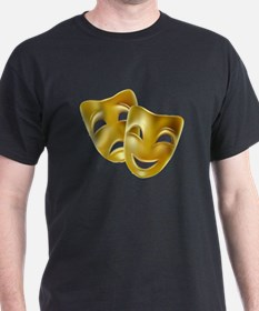 Masks of Comedy and Tragedy T-Shirt