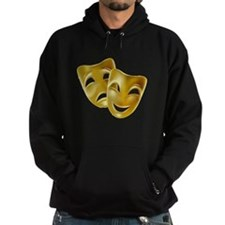 Masks of Comedy and Tragedy Hoodie