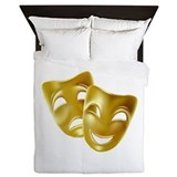Drama masks Duvet Covers