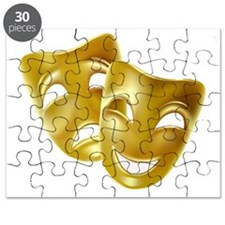 Masks of Comedy and Tragedy Puzzle