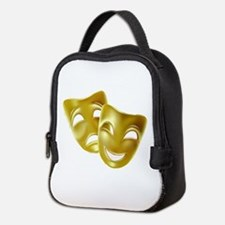 Masks of Comedy and Tragedy Neoprene Lunch Bag