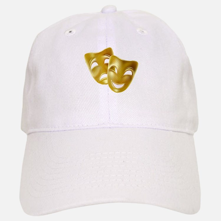 Masks of Comedy and Tragedy Baseball Baseball Cap
