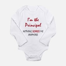 Nothing Scares Princip Long Sleeve Infant Bodysuit