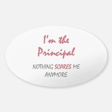 Nothing Scares Principal Decal
