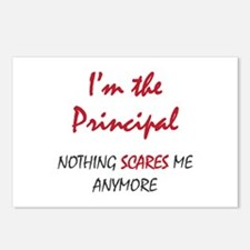 Nothing Scares Principal Postcards (Package of 8)