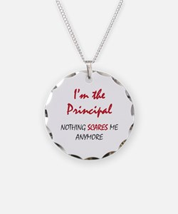 Nothing Scares Principal Necklace