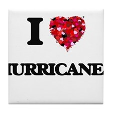 I love Hurricanes Tile Coaster