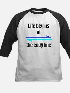 Eddy Line Updated Black Baseball Jersey
