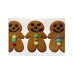 Gingerbread Men Magnets