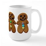 Gingerbread Men Mugs