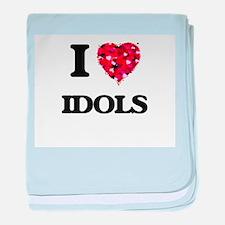 I love Idols baby blanket