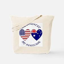 USA / Australian Heritage Tote Bag