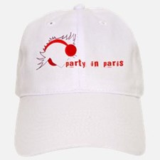 spike paris party Baseball Baseball Cap