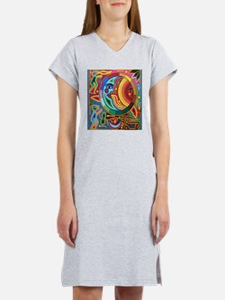 Mexican_String_Art_Image_Sun_Mo Women's Nightshirt