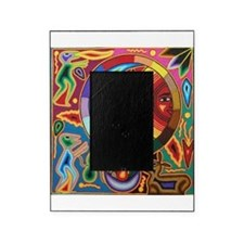 Mexican_String_Art_Image_Sun_Moon Picture Frame