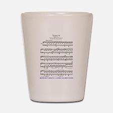 Moonlight-Sonata-Ludwig-Beethoven Shot Glass