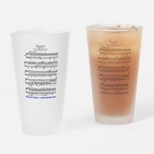 Moonlight-Sonata-Ludwig-Beethoven Drinking Glass