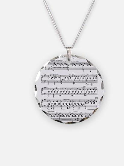Moonlight-Sonata-Ludwig-Beet Necklace