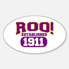 ROO Oval Decal