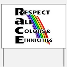 Race relations Yard Sign
