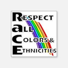 Race relations Sticker