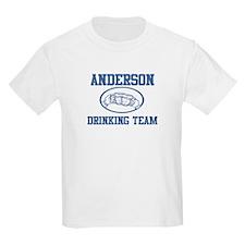 ANDERSON drinking team T-Shirt