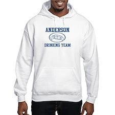 ANDERSON drinking team Jumper Hoody
