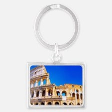 Rome, Italy - Colosseum  Landscape Keychain