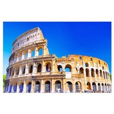 Rome, Italy - Colosseum  Poster
