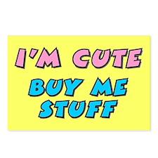 BUY_ME_STUFF Postcards (Package of 8)