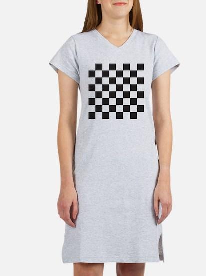 Checkered Women's Nightshirt