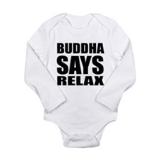 Buddha Long Sleeve Infant Bodysuit