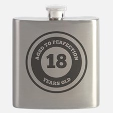 Aged To Perfection 18 Years Old Flask