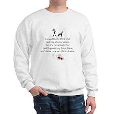 Unique Great dane Sweatshirt