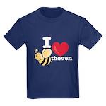 I Love BEEthoven Kids Navy T-Shirt