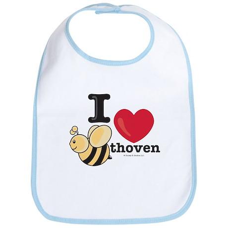 I Love BEEthoven Bib
