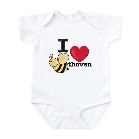 I Love BEEthoven Infant Bodysuit Onesie