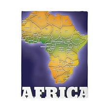 Map of africa Twin Duvet