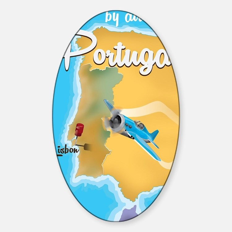 Portugal travel poster  Decal