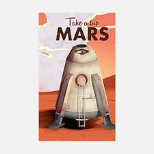 Take a Trip to Mars Decal