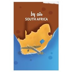 South Africa Vintage Travel poster  Poster