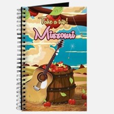 Missouri vintage cartoon travel poster Journal