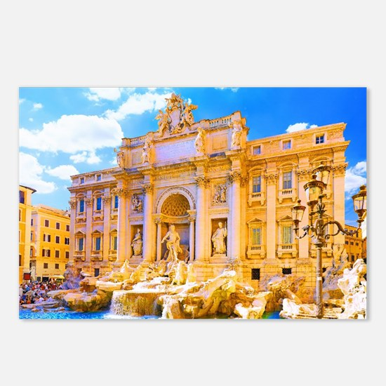 Rome, Italy - Cinque Terr Postcards (Package of 8)