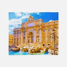 Rome, Italy - Cinque Terre Throw Blanket