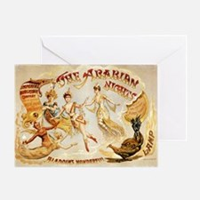 The Arabian Nights Burlesque Greeting Card