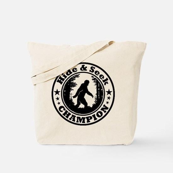 Hide and seek world champion Tote Bag