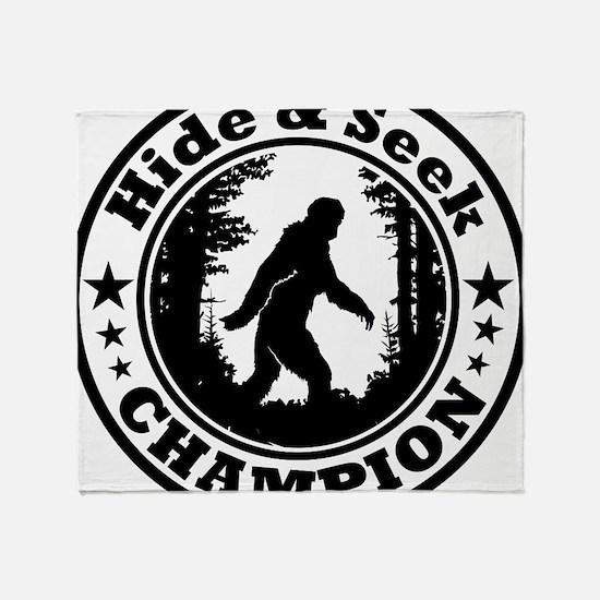 Hide and seek world champion Throw Blanket