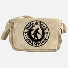 Hide and seek world champion Messenger Bag
