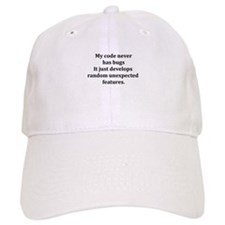 Code Bug Free Baseball Cap