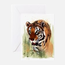 Watercolor Tiger Greeting Cards